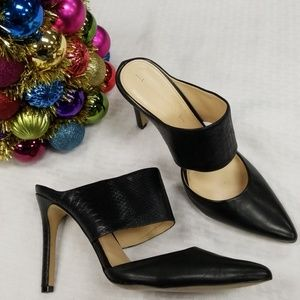 Banana republic black pointed pumps 10